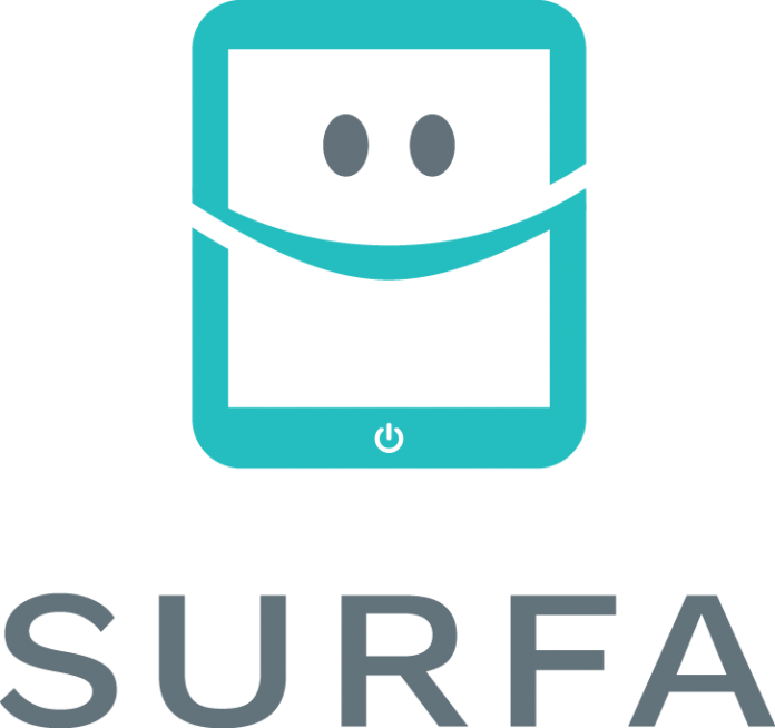 surfa green logo final work sans anpassad