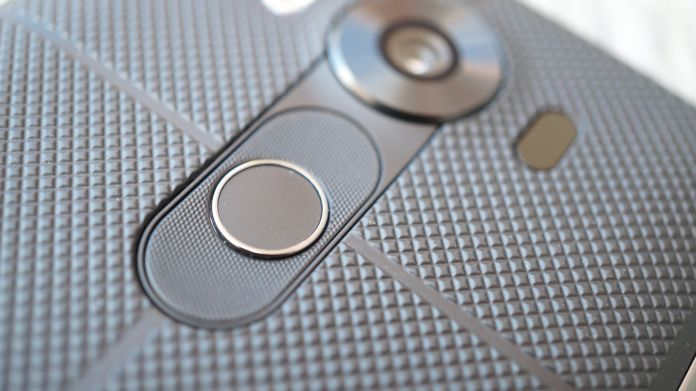 LG V10 Recension fingeravtryck