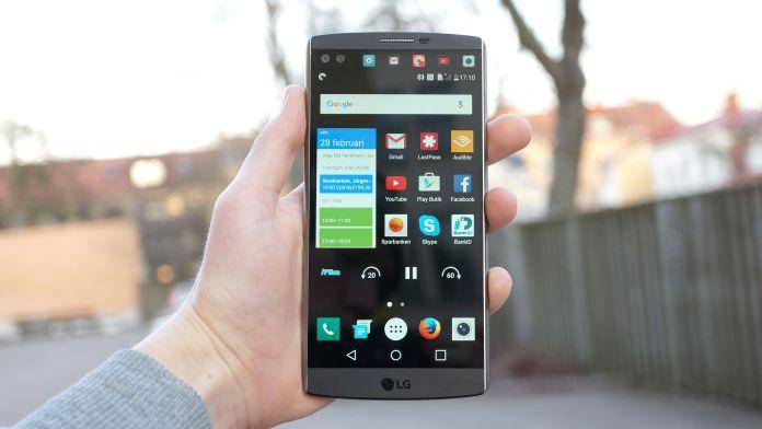 LG V10 Recension forsta