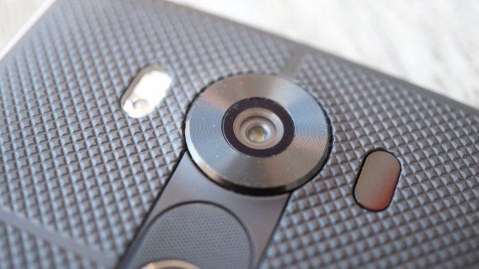 LG V10 Recension kamera