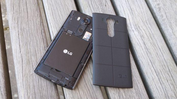LG V10 Recension utbytbart bakstycke