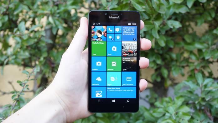 Microsoft Lumia 950 Recension forsta