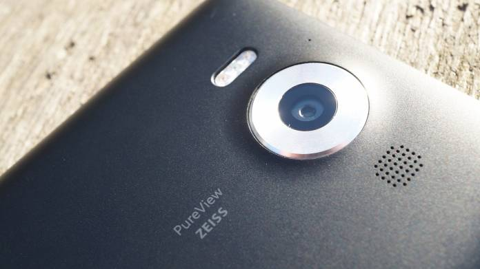 Microsoft Lumia 950 Recension kamera
