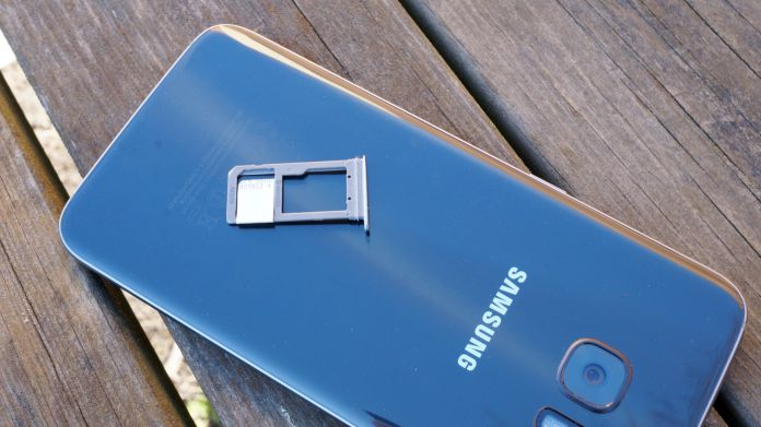 Samsung Galaxy S7 Edge Recension SIM