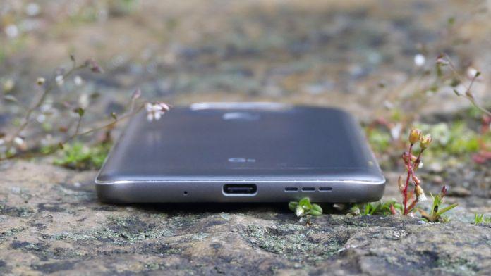 LG G5 Recension undersida
