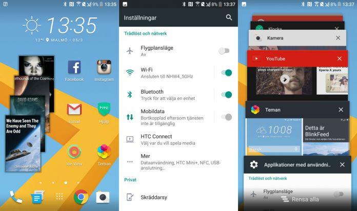 HTC10mjukvara