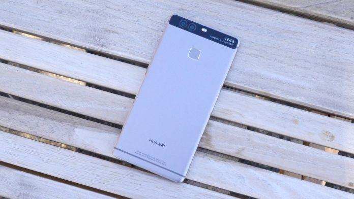 Huawei P9 Recension baksida