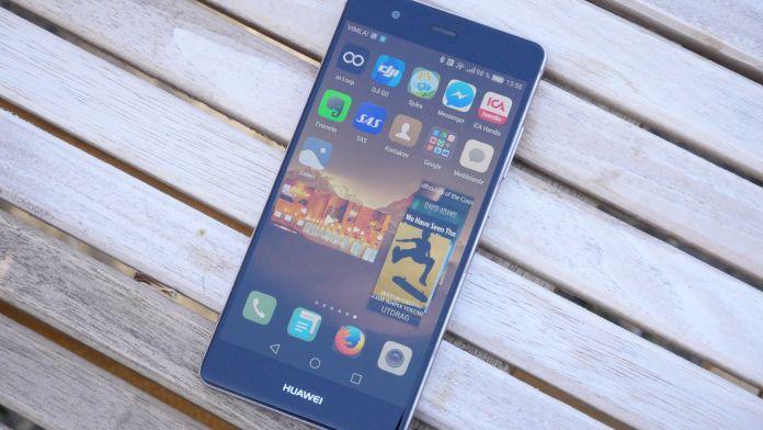 Huawei P9 Recension skarm