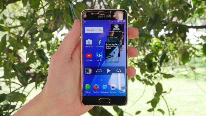 Samsung Galaxy A3 Recension forsta