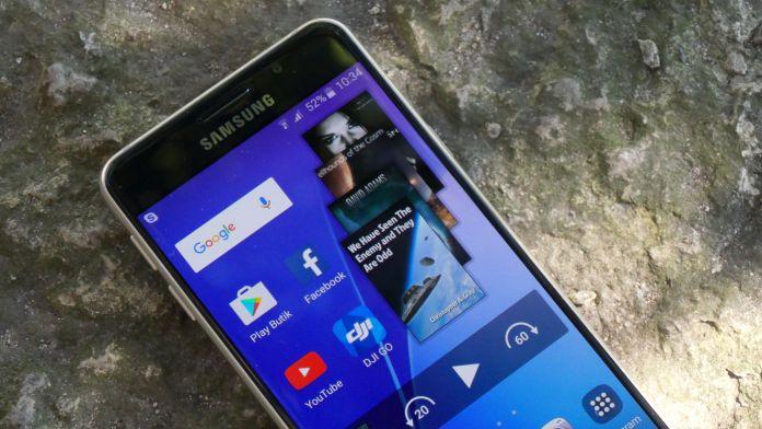 Samsung Galaxy A3 Recension samsung framsida
