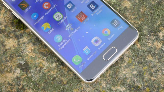 Samsung Galaxy A5 2016 Recension knappar