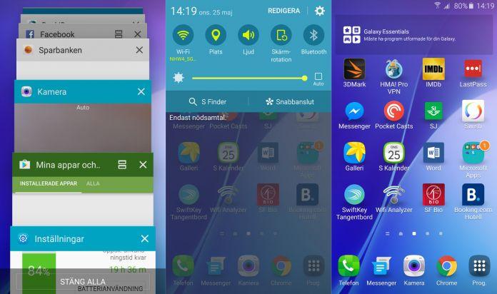 Samsung Galaxy A5 2016 Recension mjukvara