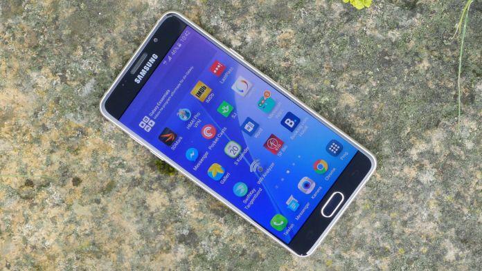 Samsung Galaxy A5 2016 Recension skarm