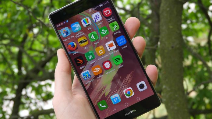 Huawei P9 Plus Recension skarm