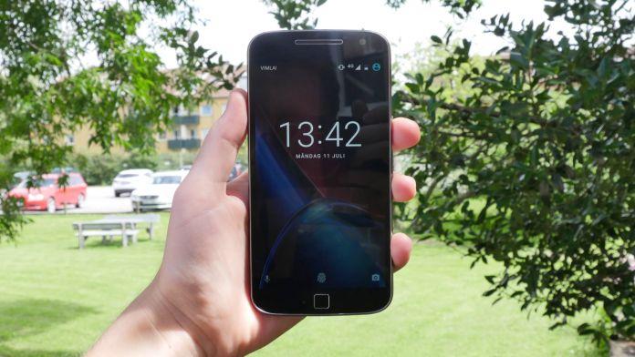 Lenovo Moto G4 Plus Recension forsta