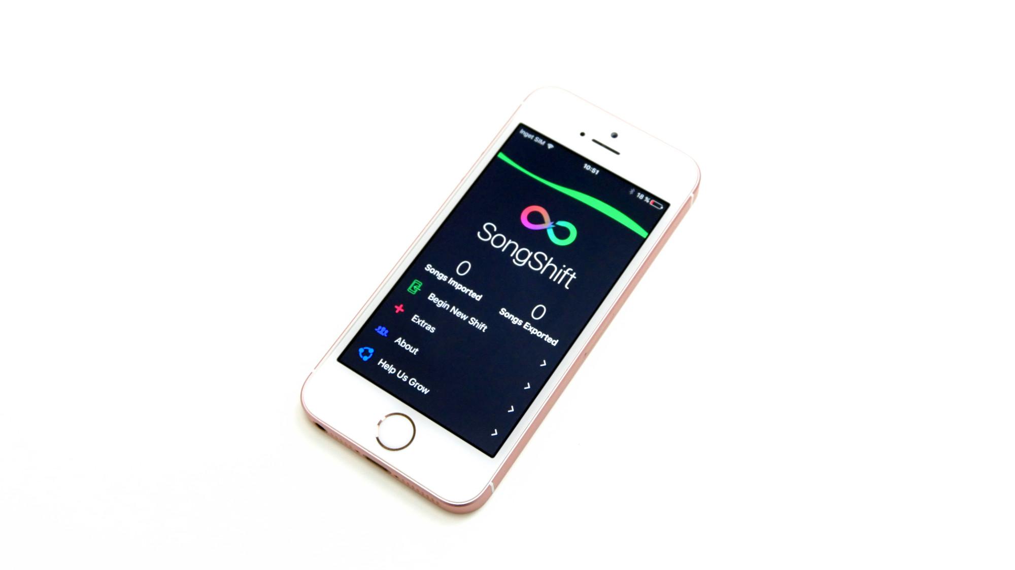 flytta saker från samsung till iphone