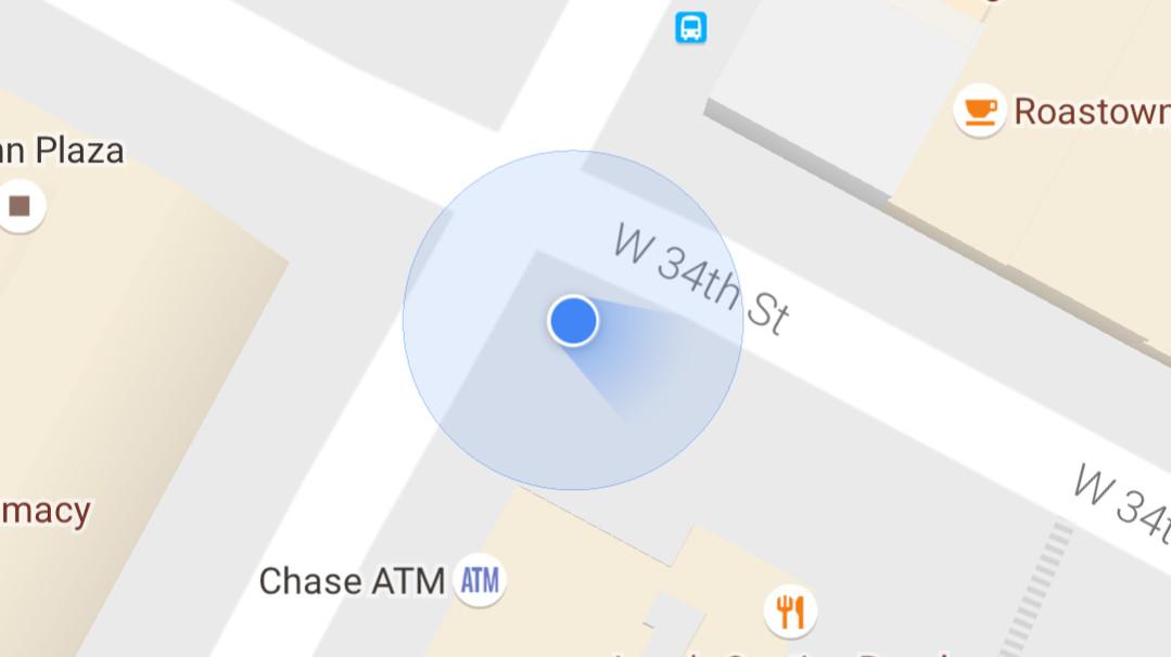 Google Maps Kompass
