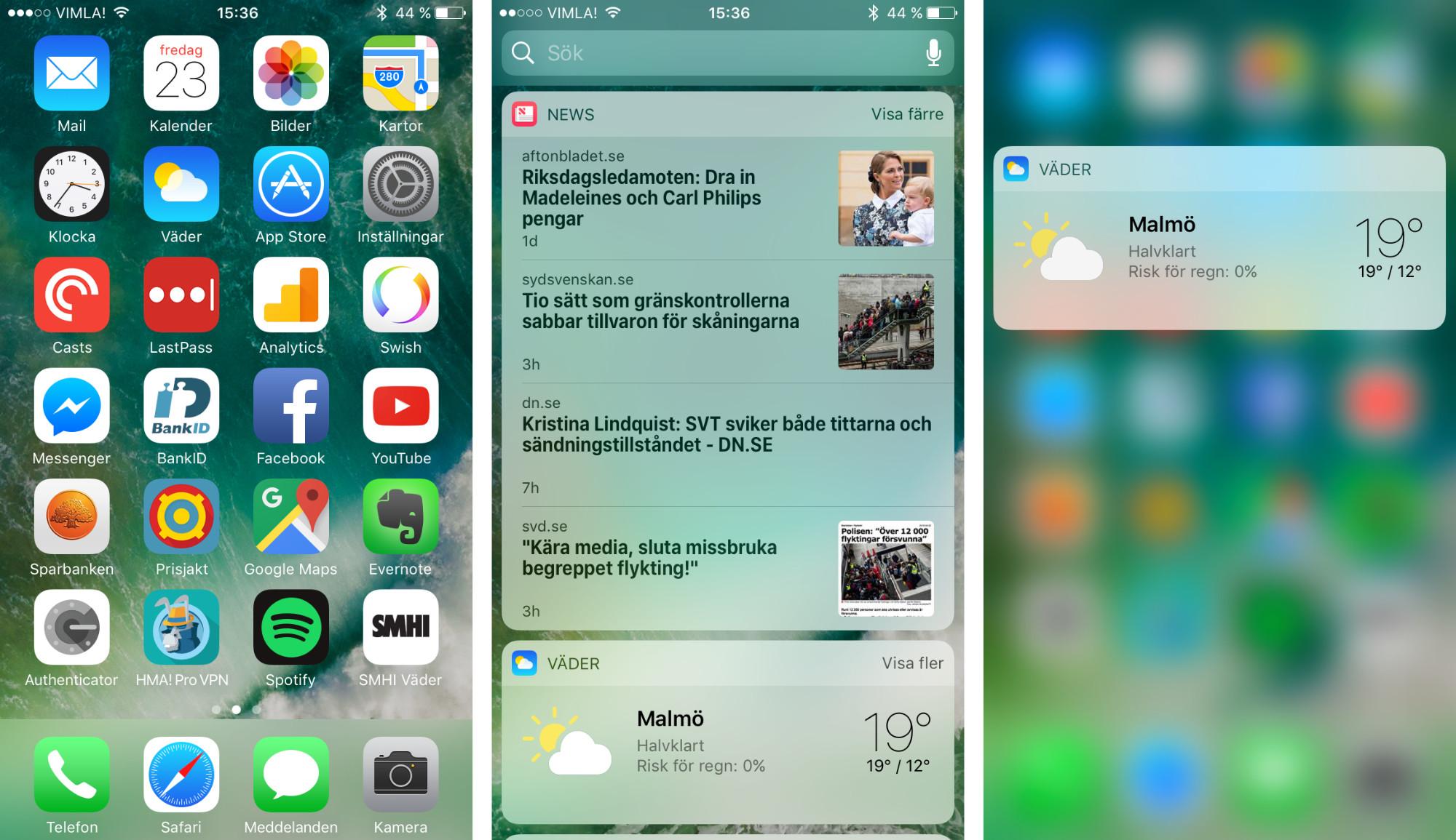 iPhone 7 Plus drivs av iOS 10 – samma operativsystem som nu finns  tillgängligt för iPhone 5 och senare. Skillnaderna i den nya modellens  mjukvara i ... ed931bc9721f0