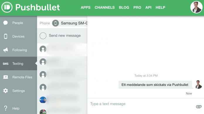 skicka gratis sms till utlandet från datorn