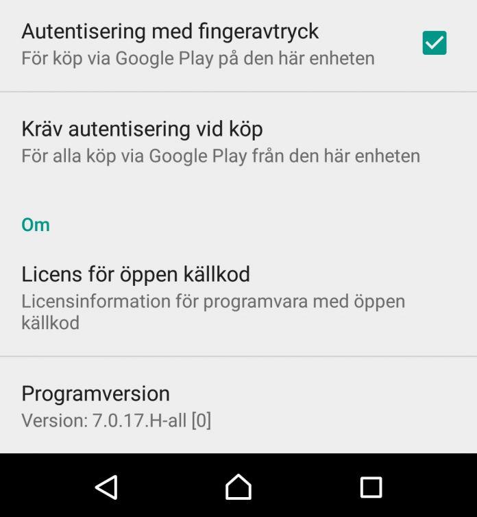 google-play-store-fingeravtryck