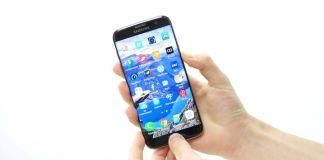 Skärmdump Galaxy S7 Edge