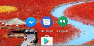 Byta SMS-app