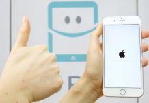 Nollställ iPhone