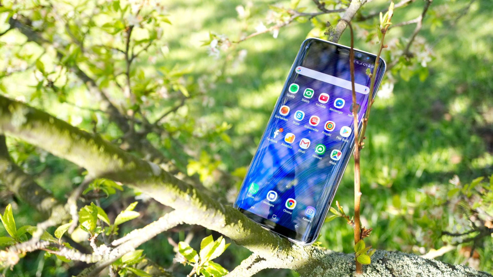 Test  Samsung Galaxy S8+ – när utsidan räknas 290051a2d0de3