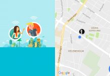 dela position google maps