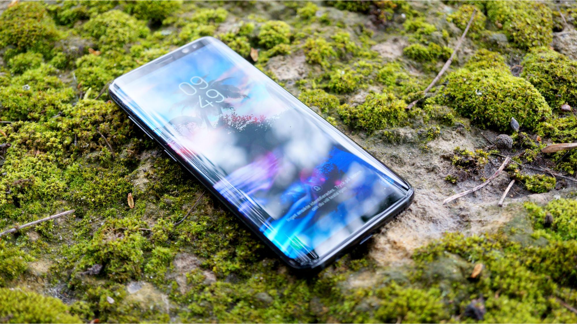 Test  Samsung Galaxy S8 – mycket skärm i litet format 608e311bd5b15