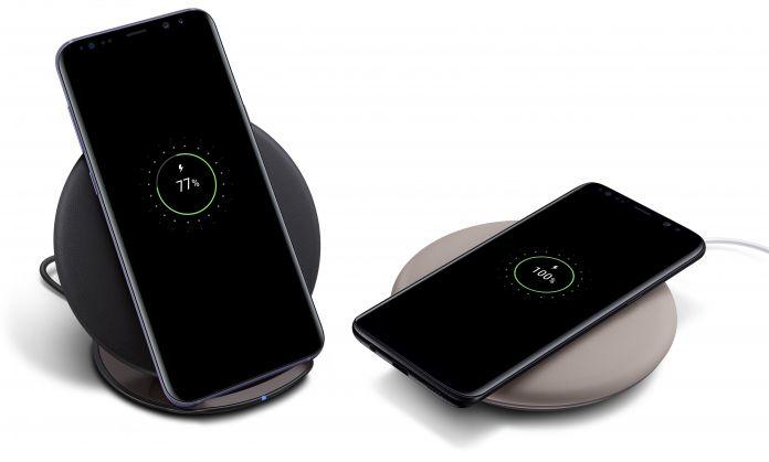 Trådlös laddning med Samsung Galaxy S8