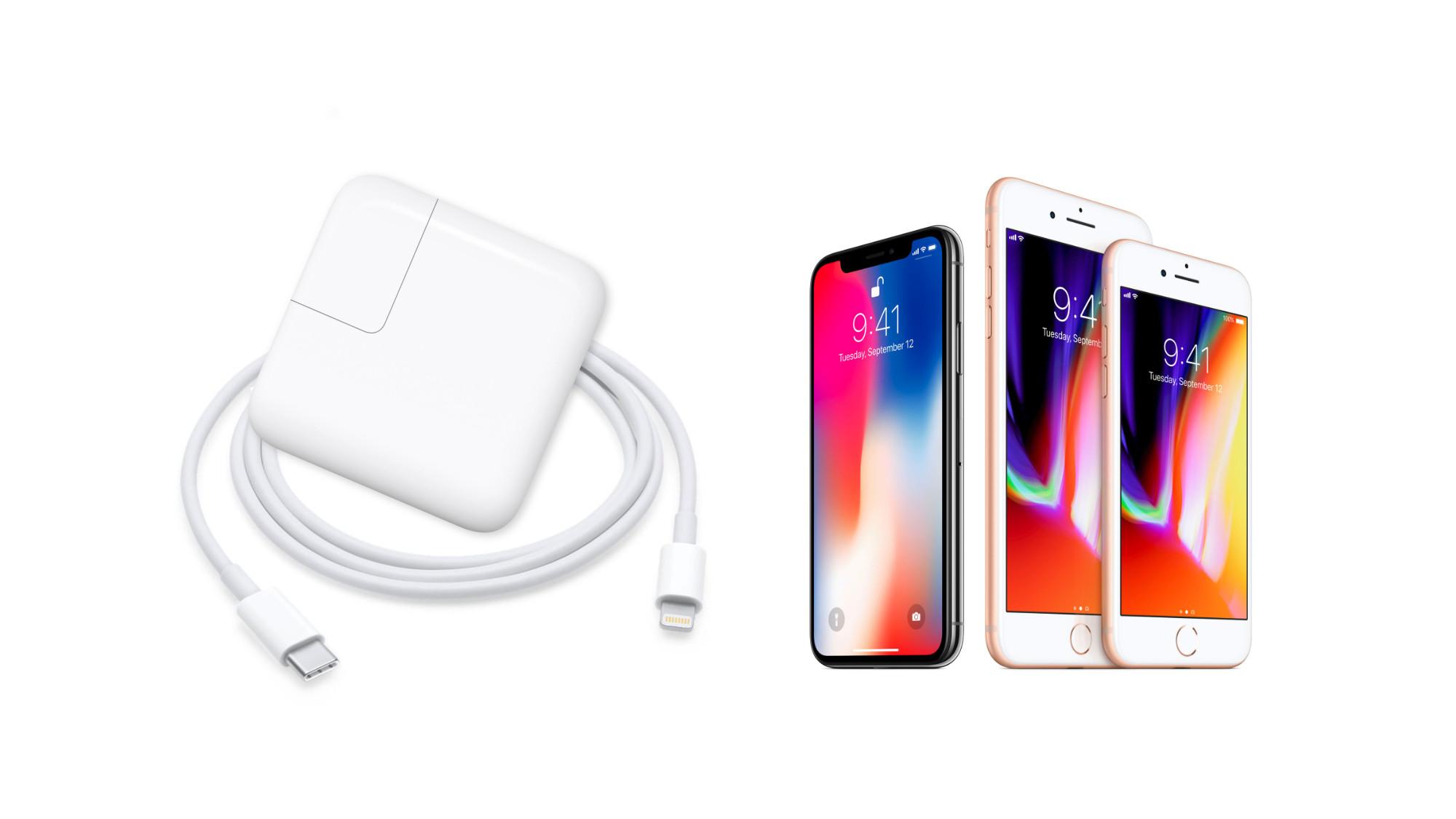 iPhone X har snabbladdning ???för 900 kr extra i tillbehör