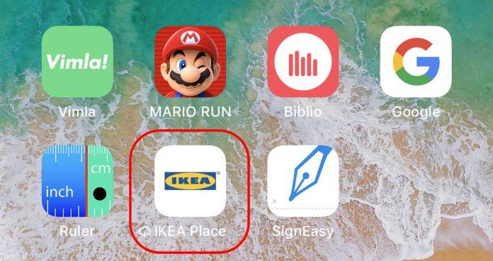 Radera appar med iPhone i iOS 11