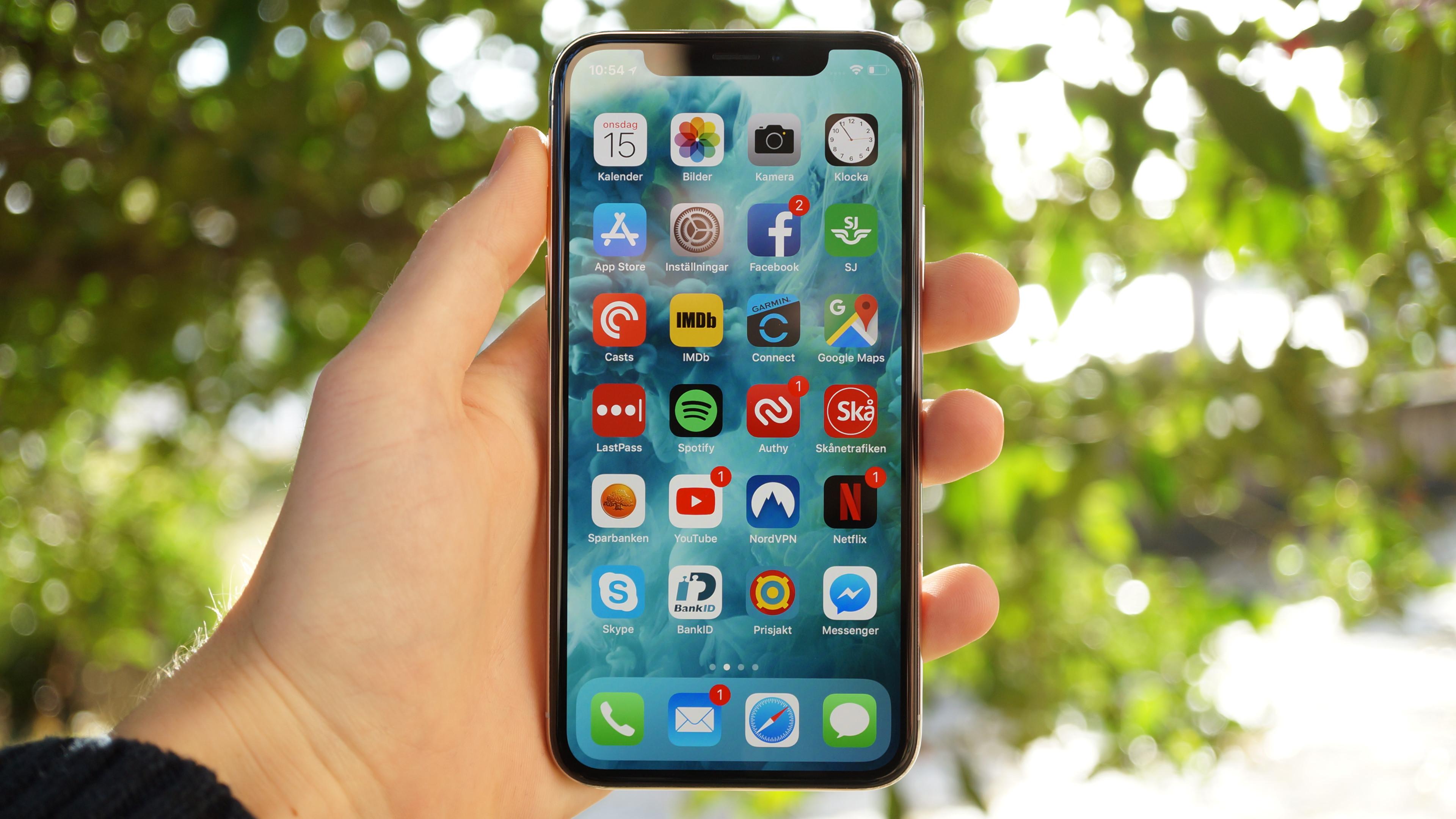 Test  Apple iPhone X – sätter ny ribba 8a3559918cc6f