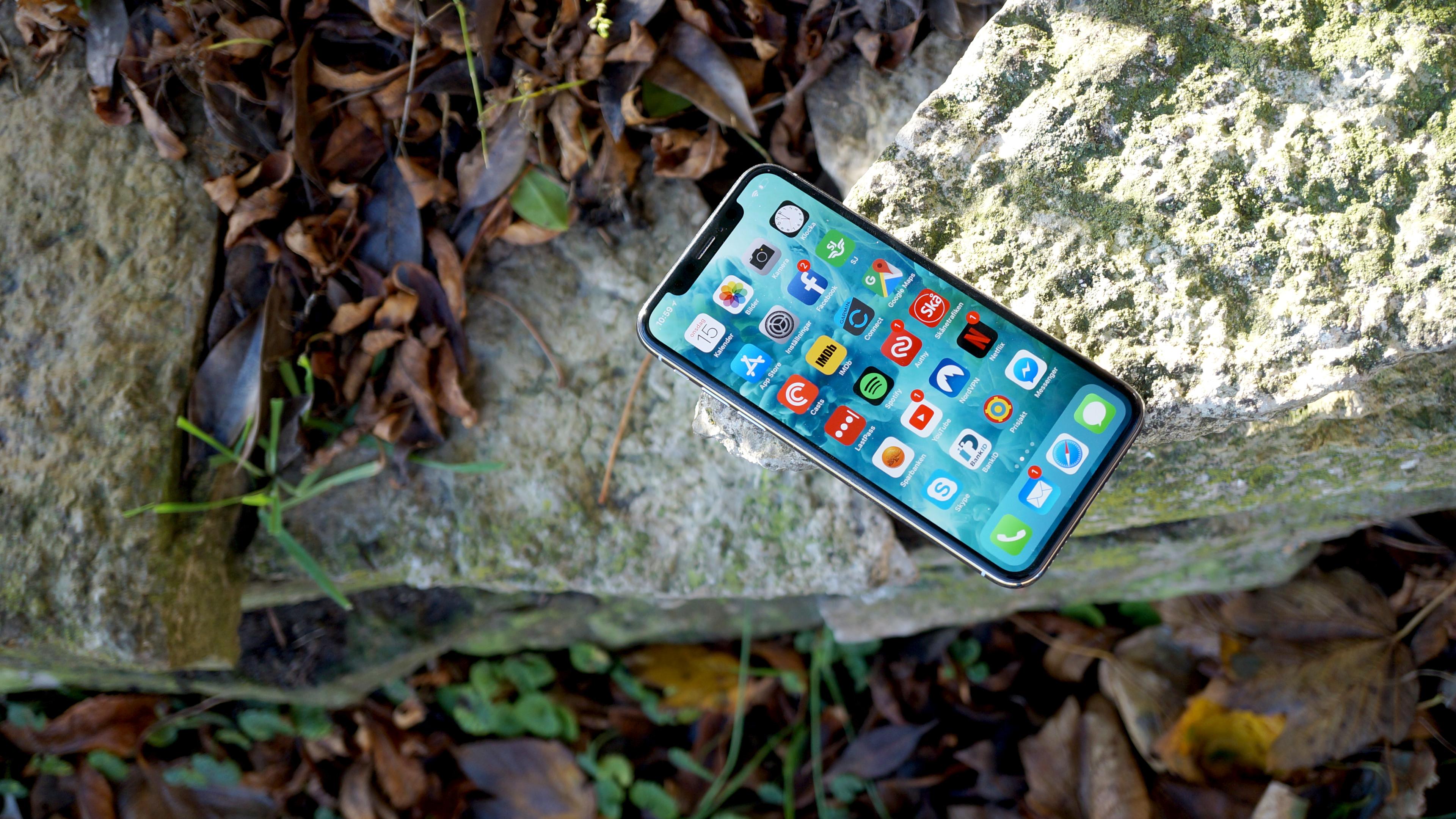 Test  Apple iPhone X – sätter ny ribba 97910c99314b8