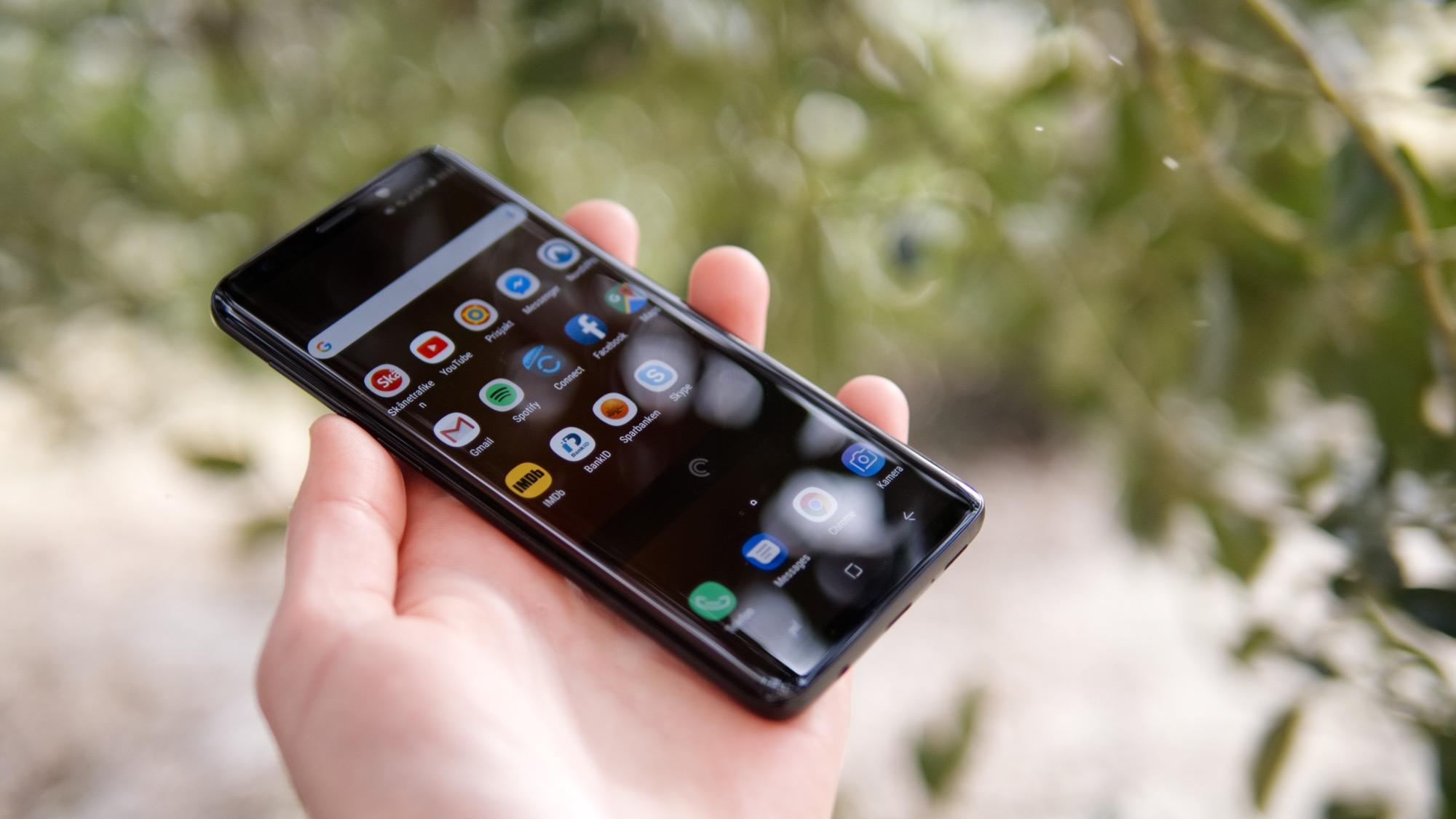 Test  Samsung Galaxy S9 – polerad till nära perfektion fc5a5a98e8e68
