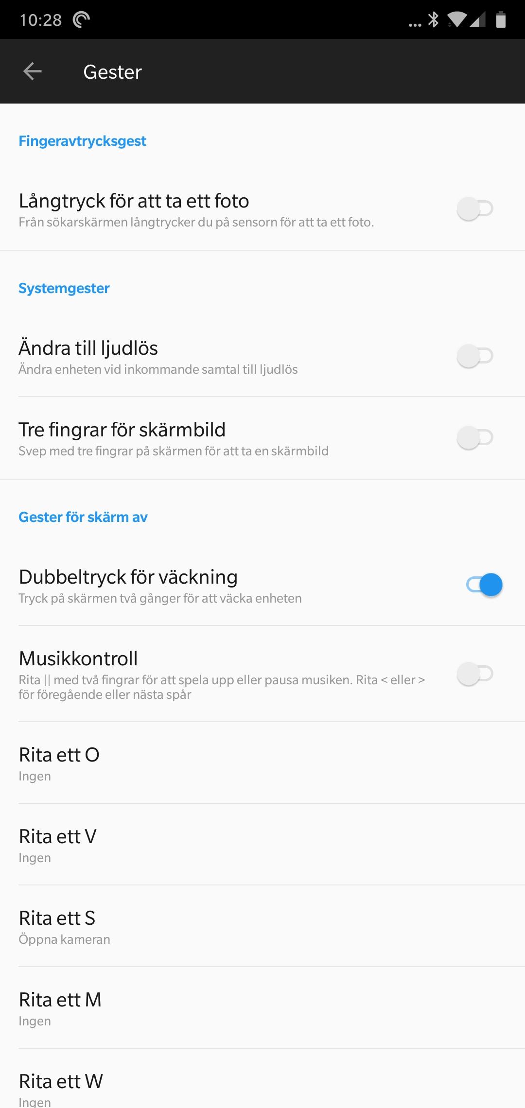 OnePlus har som vanligt en ganska lång lista med unika funktioner och  inställningar. Det handlar till exempel om möjligheten att öppna appar  direkt från en ... a055951a9796b