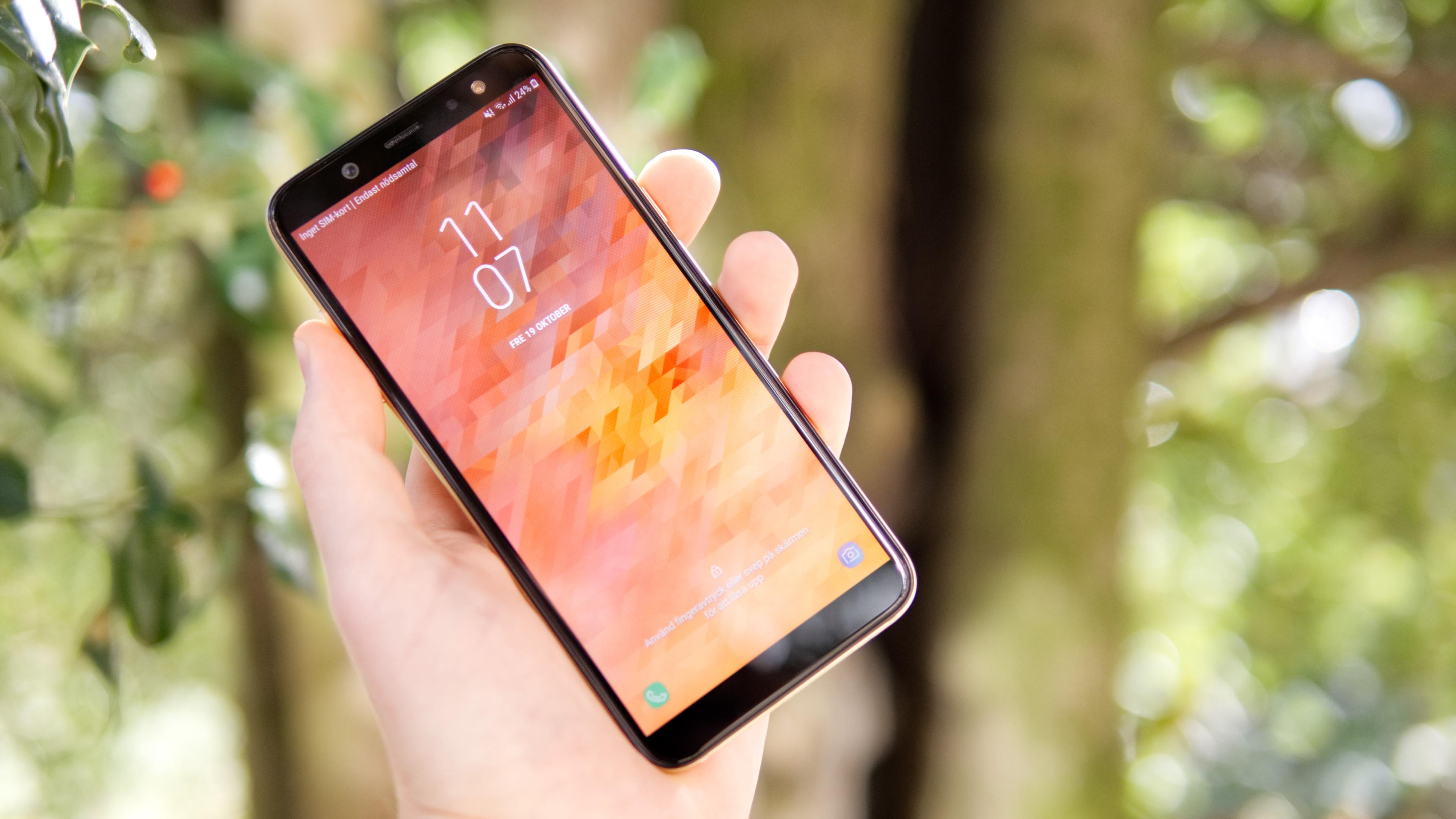 Recension Samsung Galaxy A6