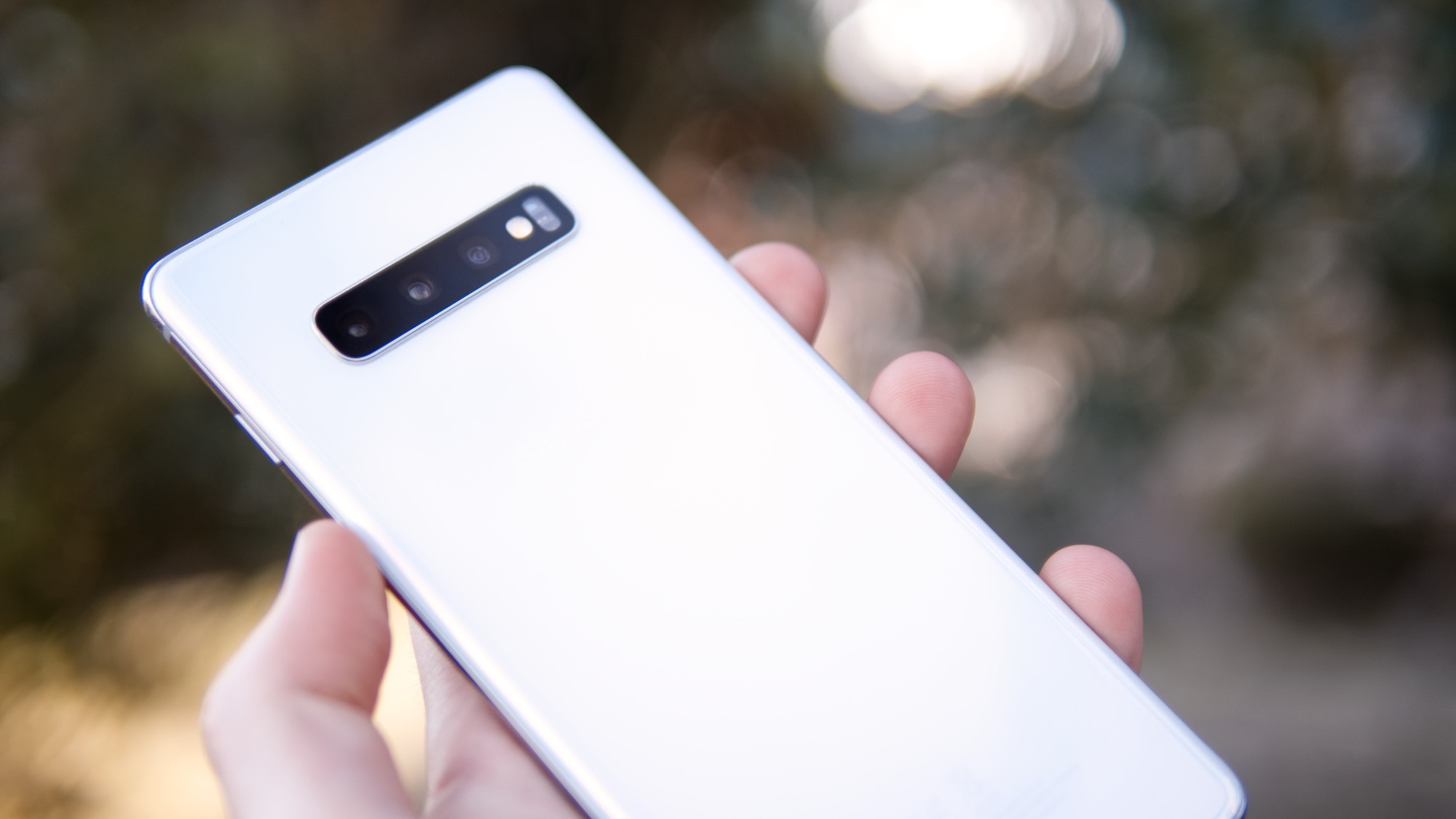 Samsung Galaxy S10+ test