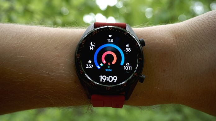 Test Huawei Watch GT mjukvara