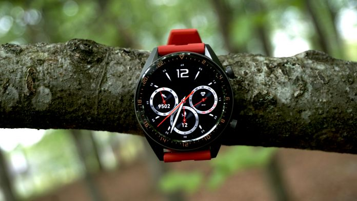 Test Huawei Watch GT Skärm