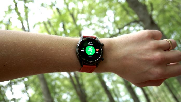 Test Huawei Watch GT Hälsa