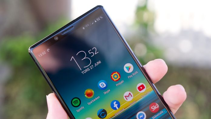 Test Sony Xperia 1 batteri