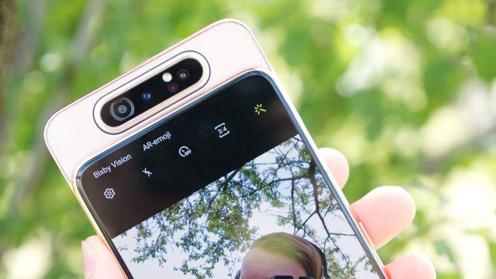 Recension Samsung Galaxy A80 kamera