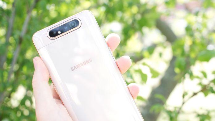 Test Samsung Galaxy A80 batteri