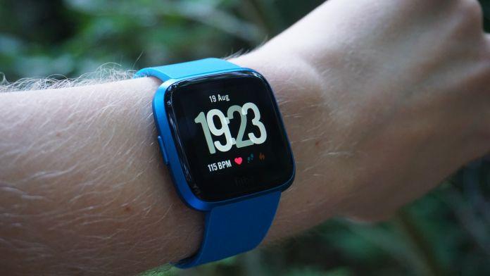 Test Fitbit Versa Lite skärm