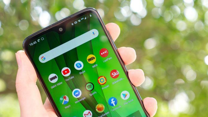 Test Motorola Moto G7 batteri