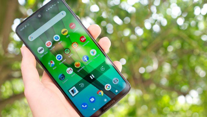 Test Motorola Moto G7 skärm