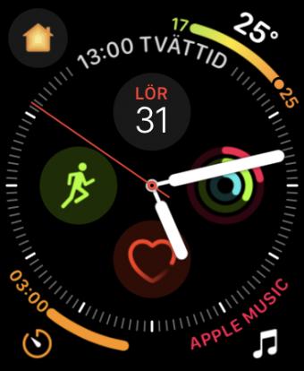 Watch OS klockansikte