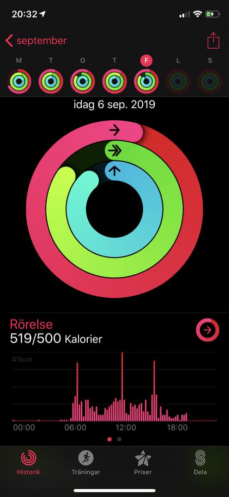 AW4 Apple Aktivitet
